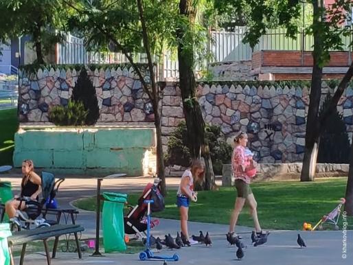 Парк имени Квитки-Основьяненко в Харькове.